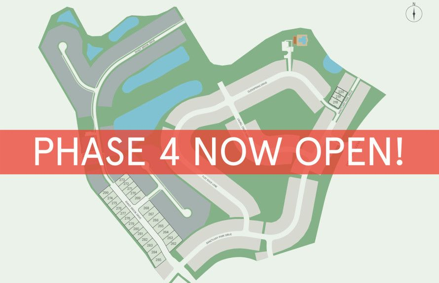 New Homesites Just Released!