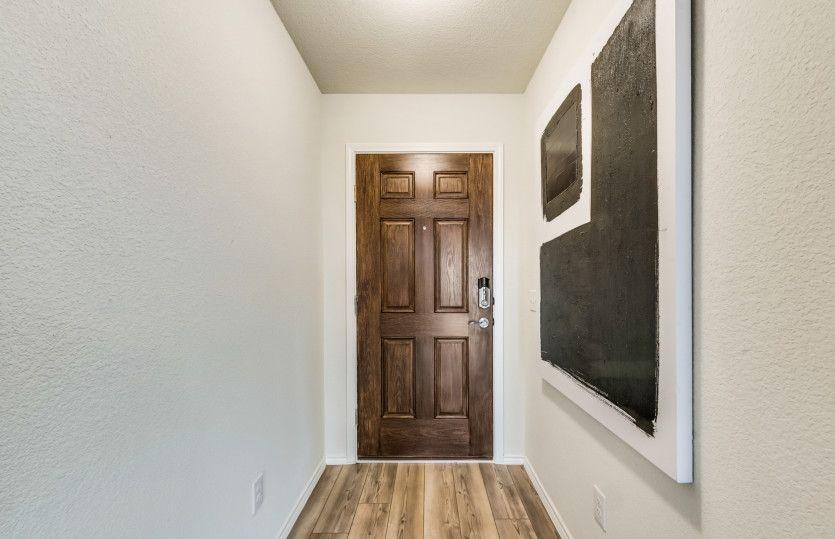Mesilla:Entry into home