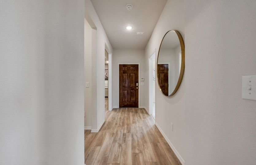Eastgate:Welcoming entryway into home