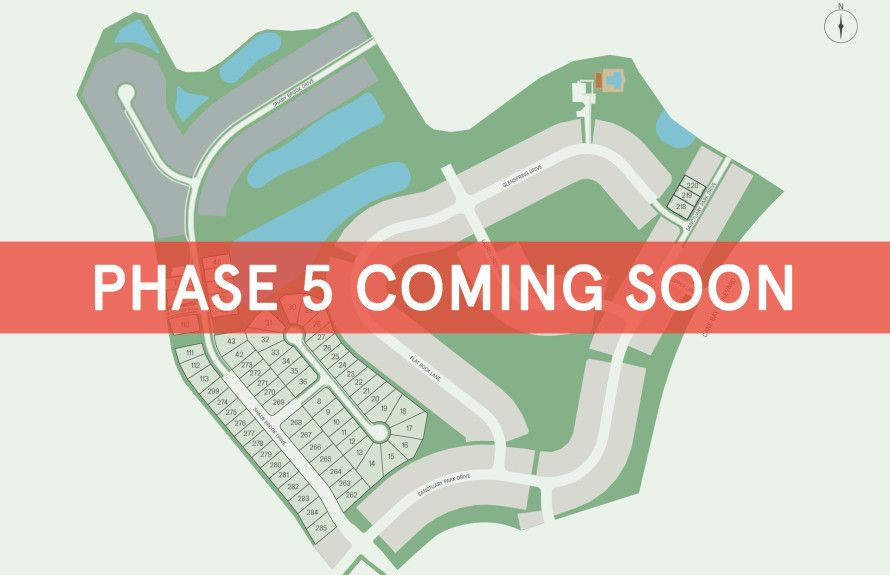 New Homesites Coming Soon!