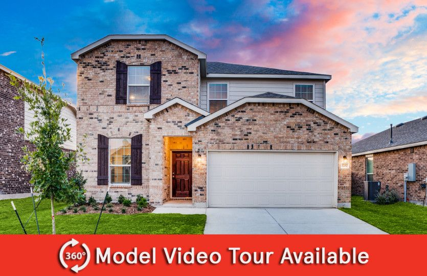 Sandalwood:The Sandalwood, a two-story home with 2-car garage