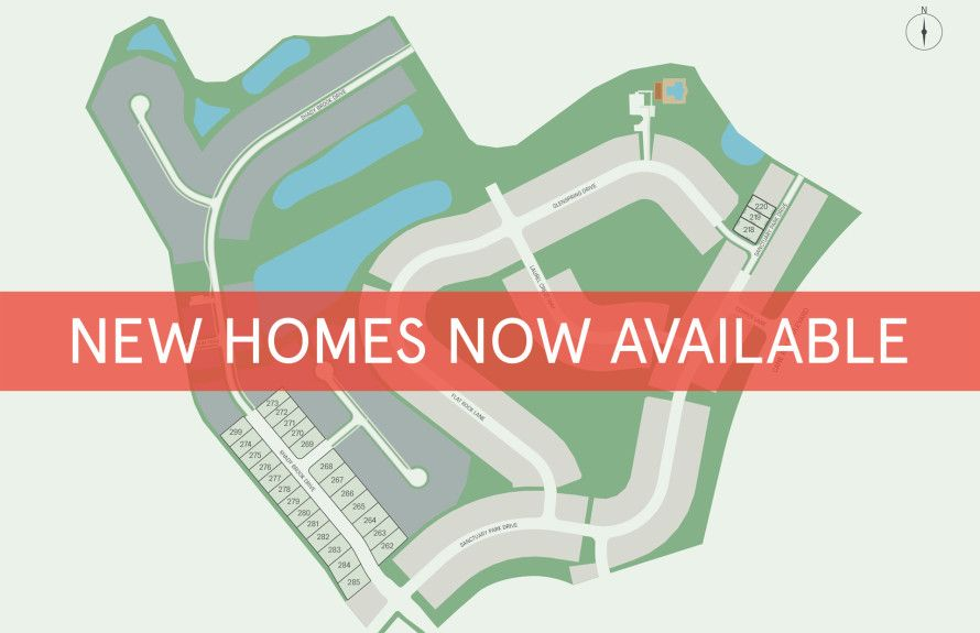 Limited Homesites Available!