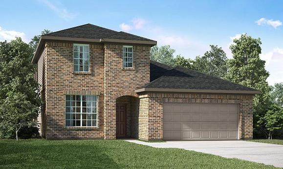 Houston floorplan at
