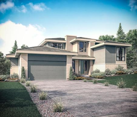 Exterior rendering o