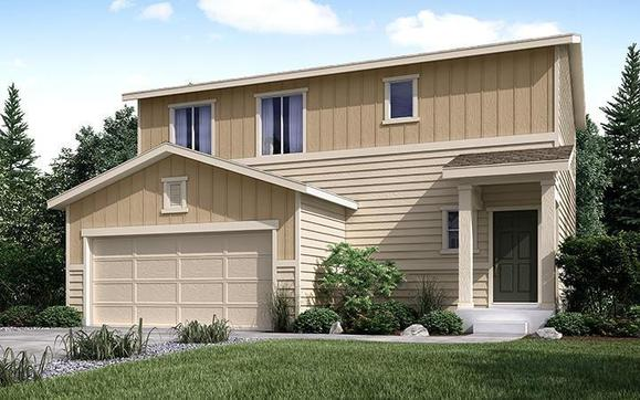 Rendering of Residence 36203 Elevation B at Coyote Creek in Fort Lupton by Century Communities:Coyote Creek - Residence 36203 - B