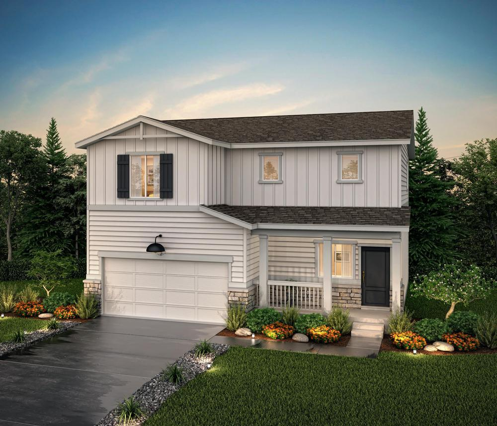 Exterior rendering a