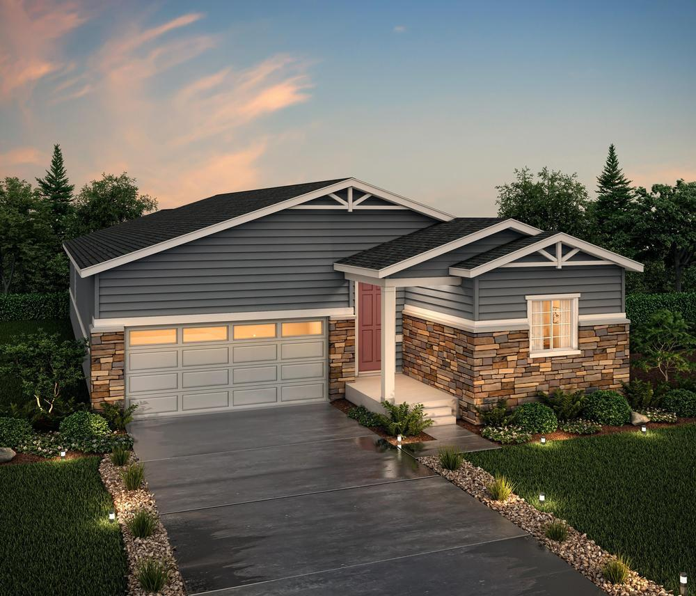 Rendering of 39103 E:39103 Elevation A