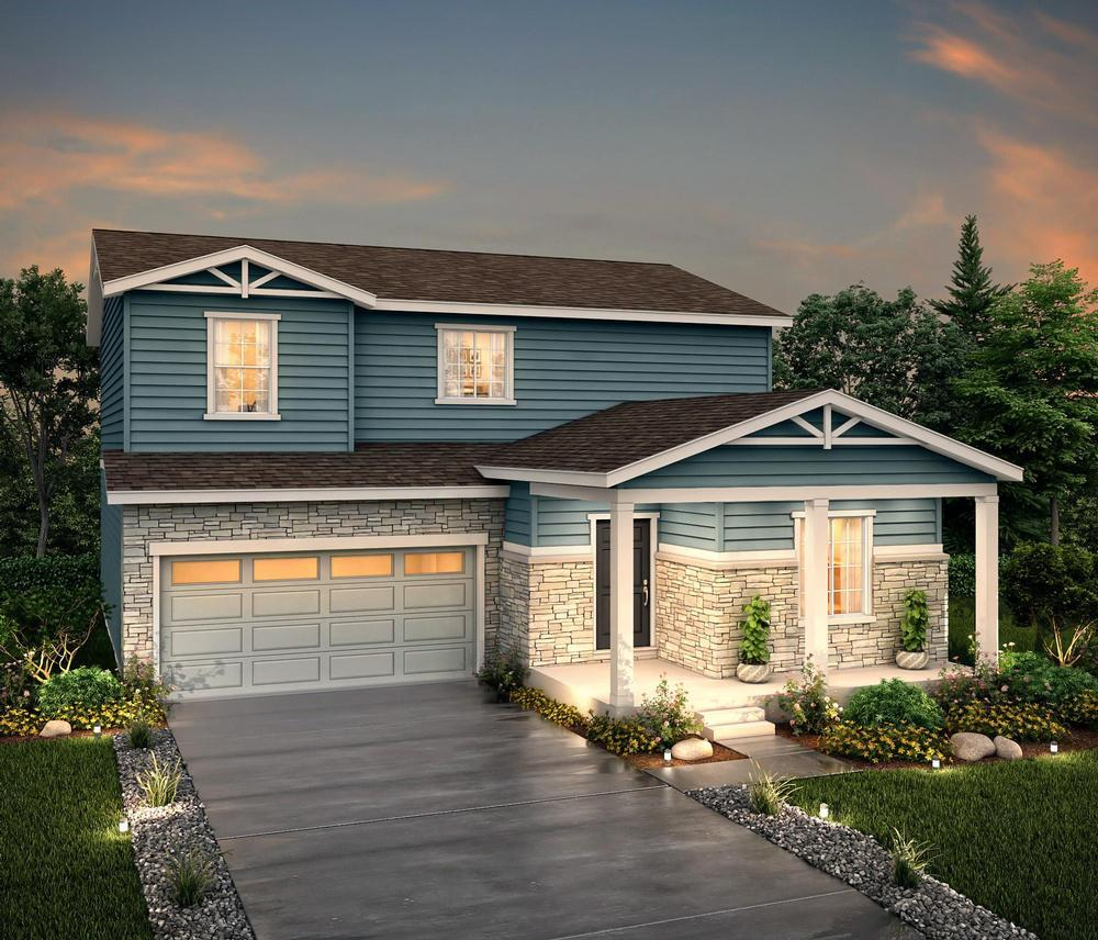 Rendering of 39208 E:39208 Elevation A