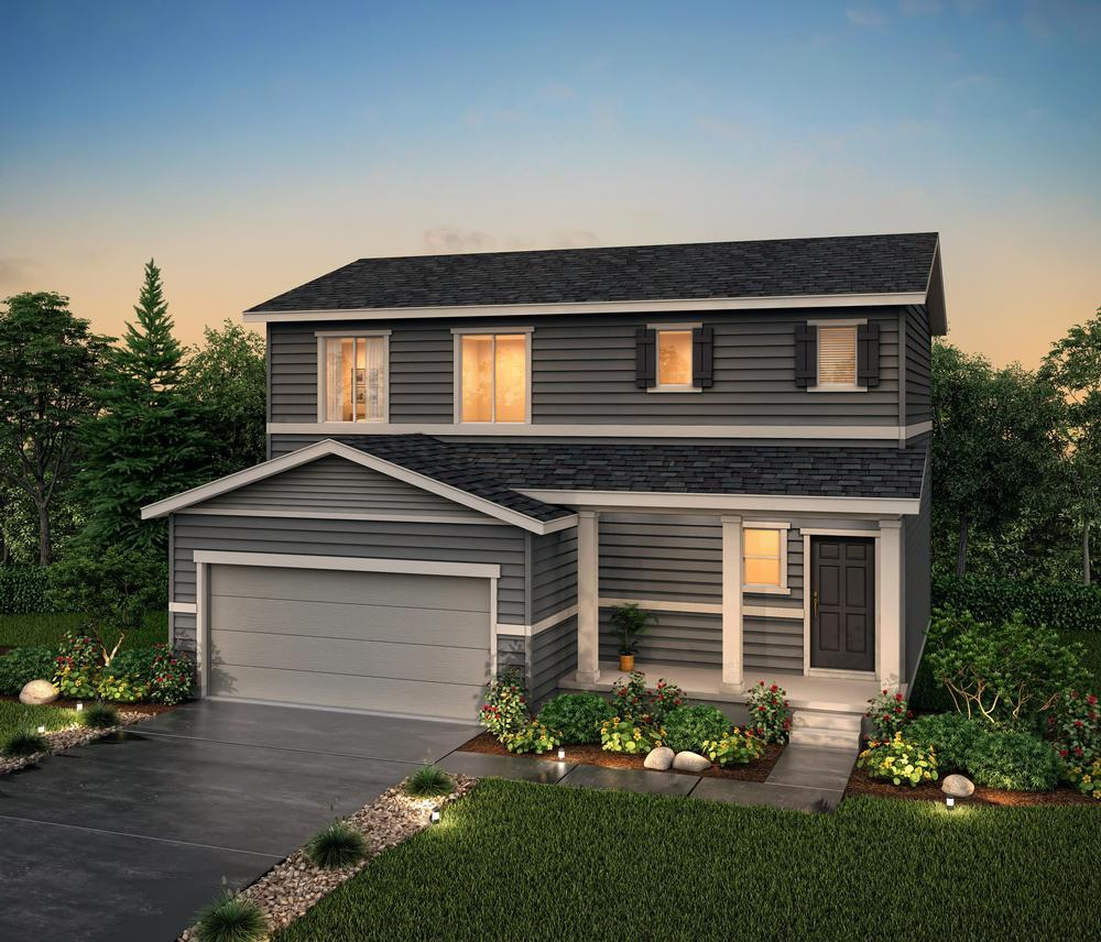 Rendering of Residen:Residence 36203- Elevation A