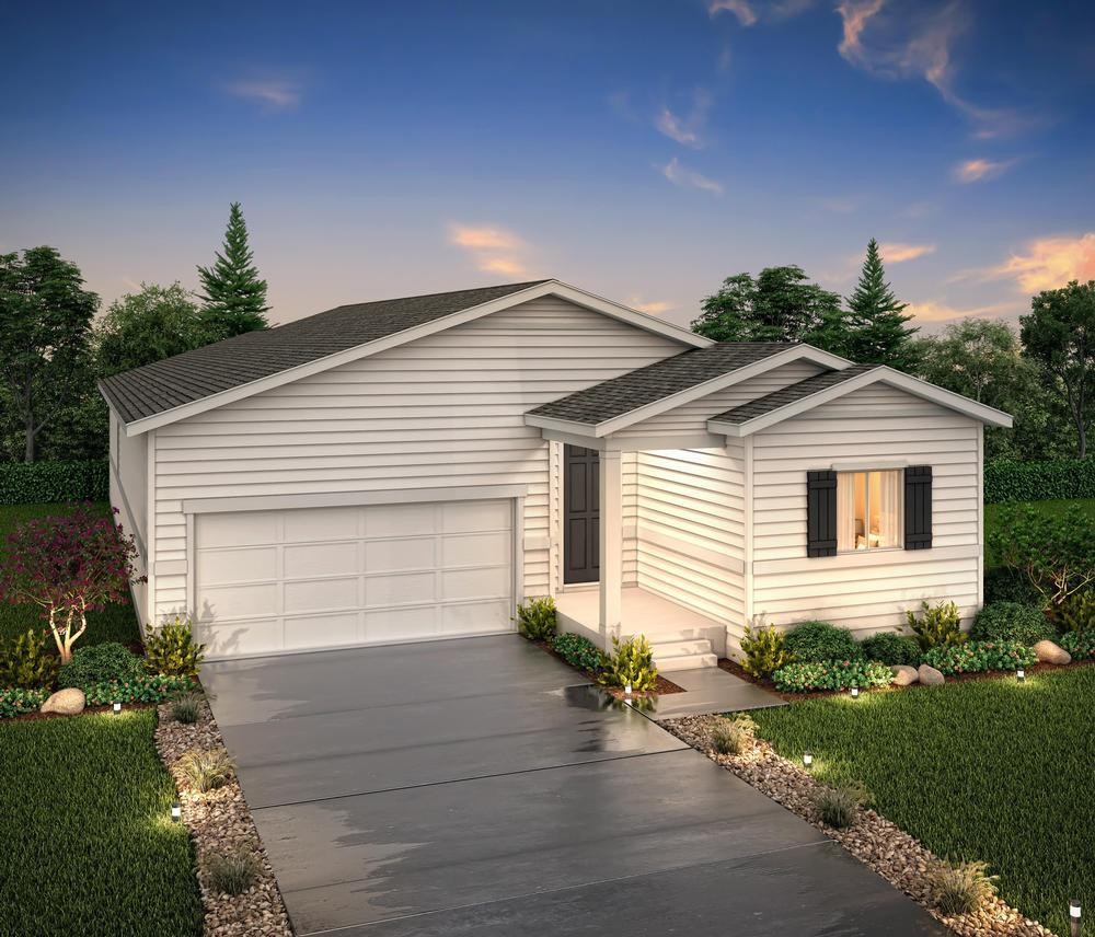 Exterior rendering o:Residence 39103- Elevation A