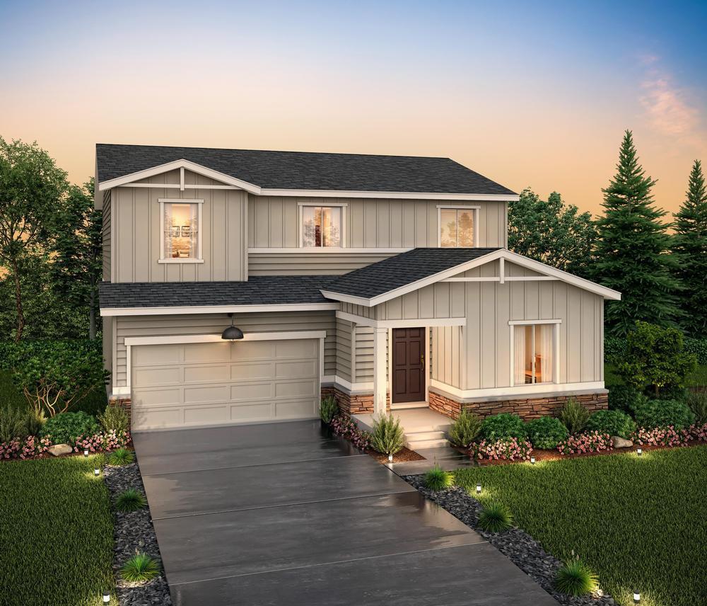 Rendering at Residen:Residence 39208- Elevation E