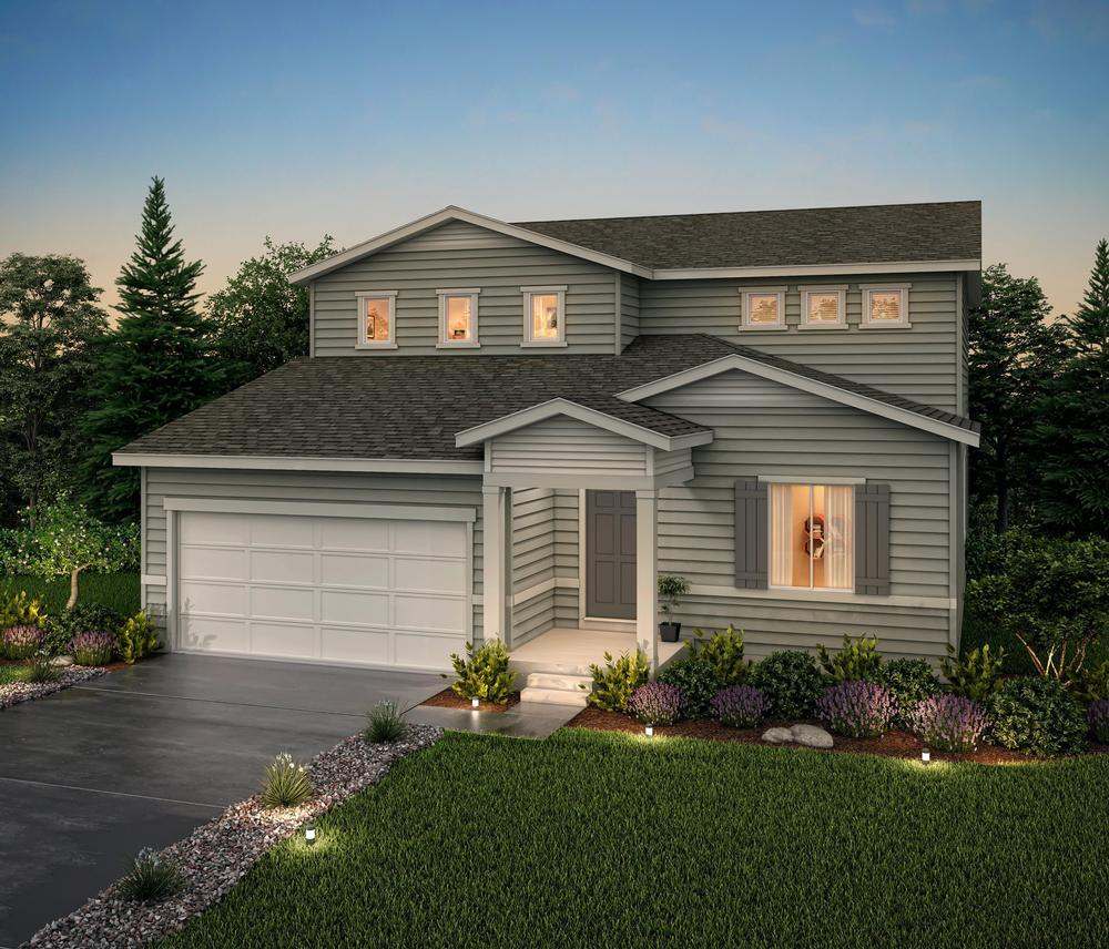 Rendering of Residen:Residence 39209- Elevation A