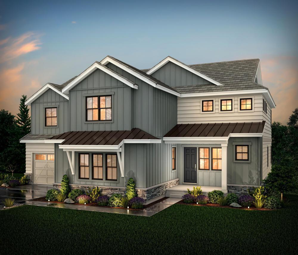 Residence 60253 elev:Modern Farmhouse