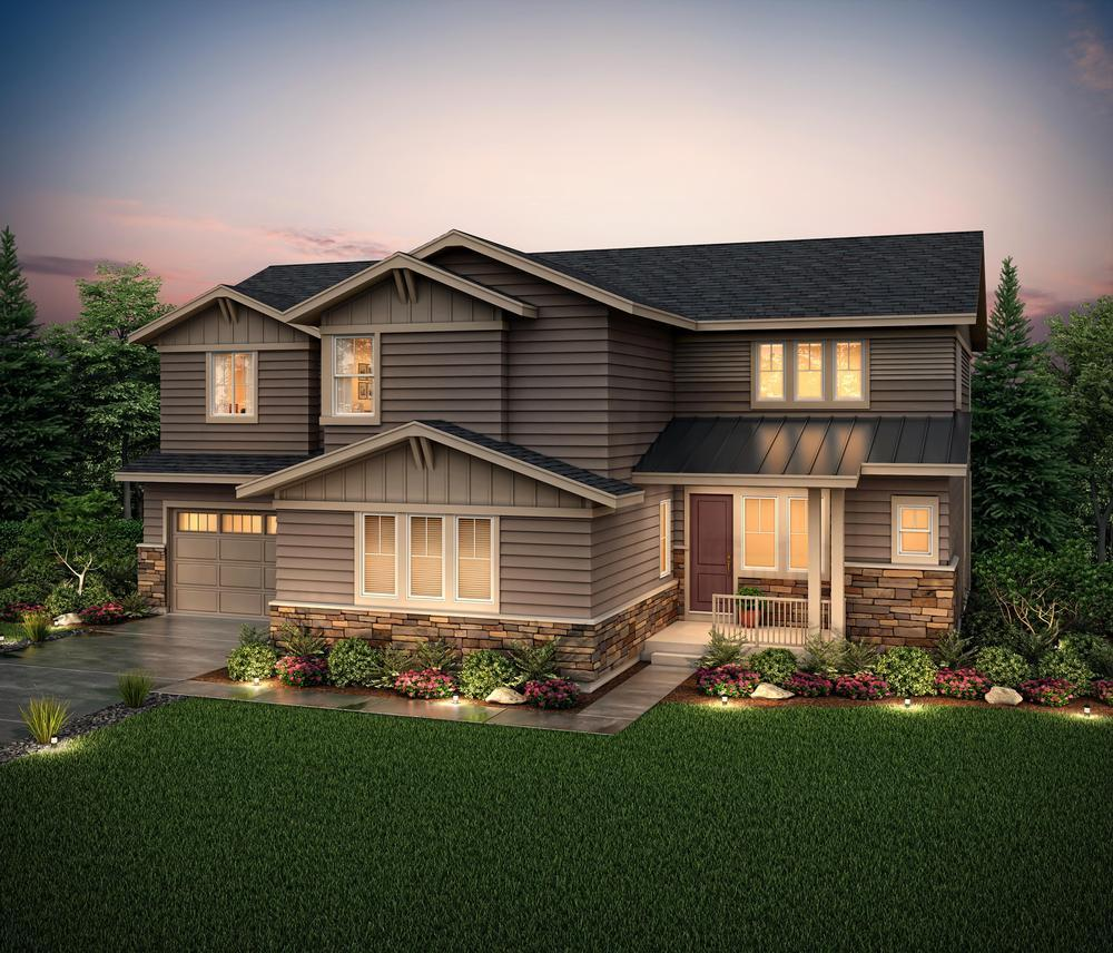 Rendering of Residen:60253 Elevation B