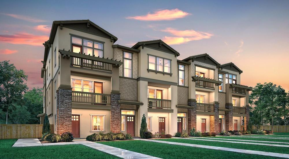 The Juniper II Exter:The Juniper II Exterior Elevation - Ranch - 7 Plex