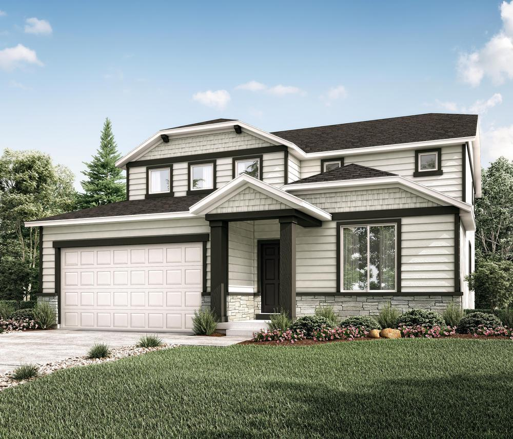 The Solitude Model at Summerfield Estates in Provo by Century Communities