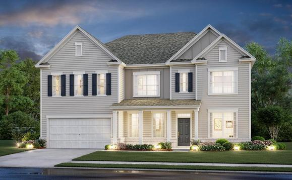 4 bedroom two story:Hawthorn A