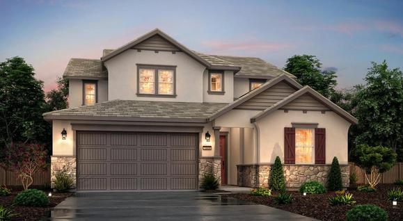 Elevation C Cottage,:Elevation C - Cottage