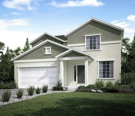 The Palisade Elevati:The Palisade Elevation S at The Views at Jordan Meadows in West Valley by Century Communities