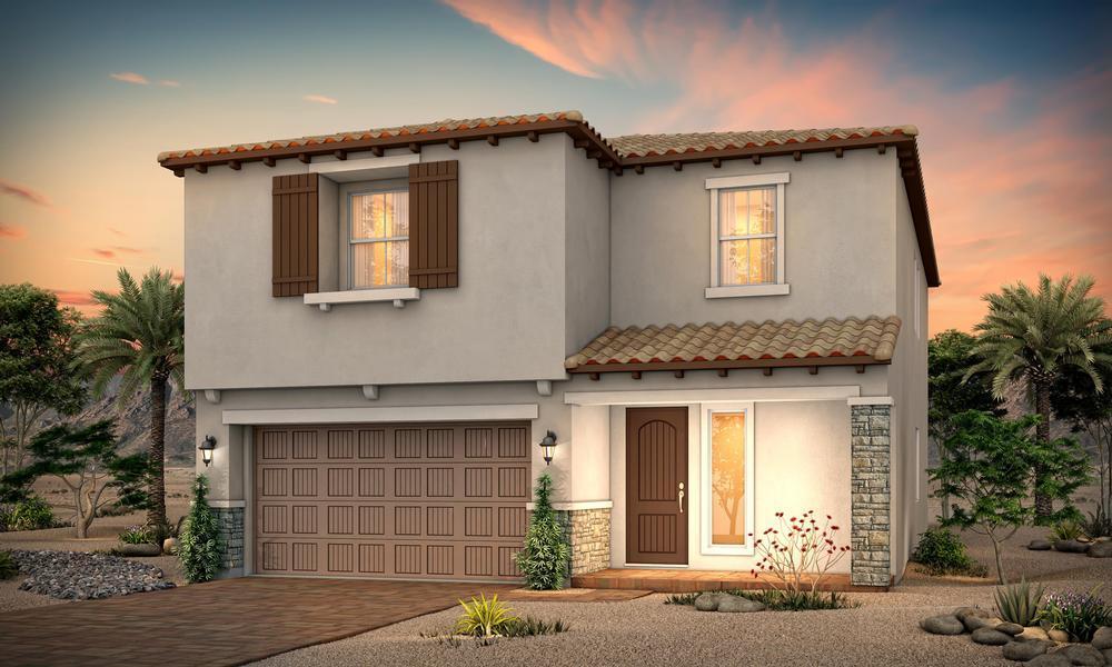 Exterior:Residence 2843 | Hacienda Elevation