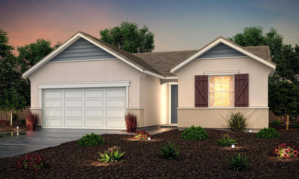 Exterior:Elevation C - Cottage