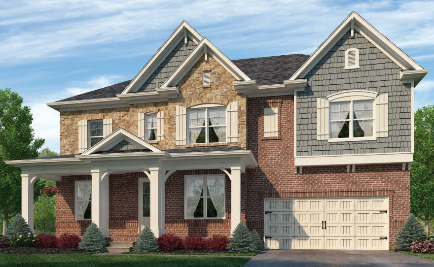 Glenbrooke by Chafin Communities:Elevation C with Optional Stone