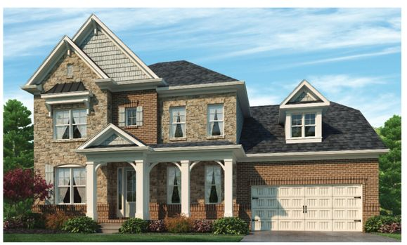 Bentley by Chafin Communities:Elevation C with Optional Stone
