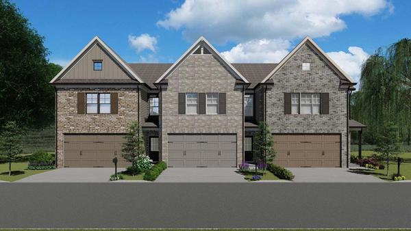 Cheshire by Chafin Communities:Front Elevations A B C