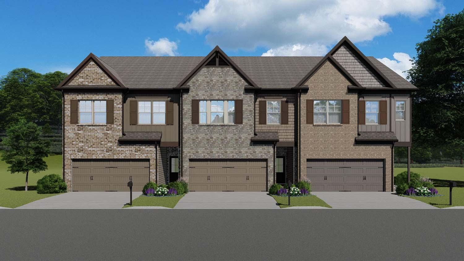 The Durham by Chafin Communities:Elevation A B C