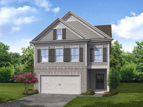 Hawthorn by Chafin Communities:Elevation B