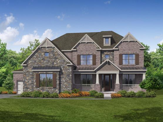 Tudor by Chafin Communities:Elevation B