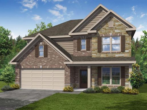 Hunter II by Chafin Communities:Elevation D