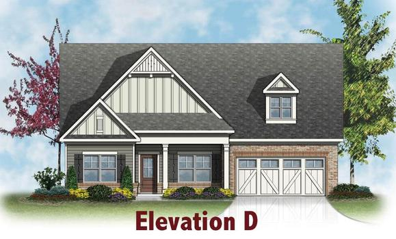 Newport by Chafin Communiites:Elevation D