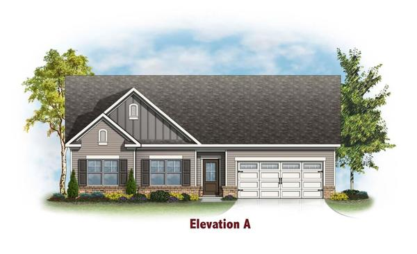 The Brentwood by Chafin Communities:Elevation A