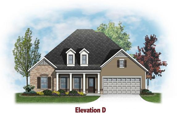 Oxford by Chafin Communities:Elevation D