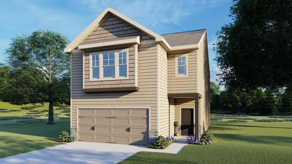 Davenport by Chafin Communities:Elevation E