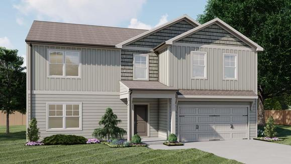 Everett by Chafin Communities:Elevation C