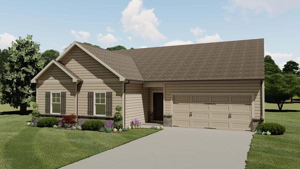 Magnolia by Chafin Communities:Elevation B