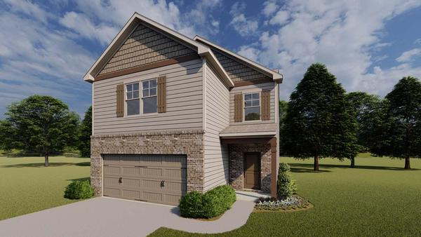 McKinley by Chafin Communities:Elevation F
