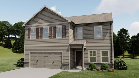 Redford by Chafin Communities:Elevation B