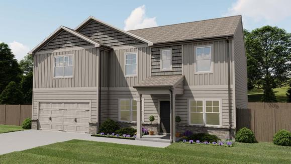 Richmond by Chafin Communities:Elevation D