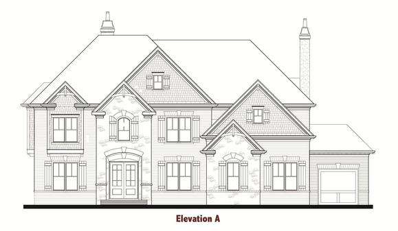 Norwich by Chafin Communities:Elevation A