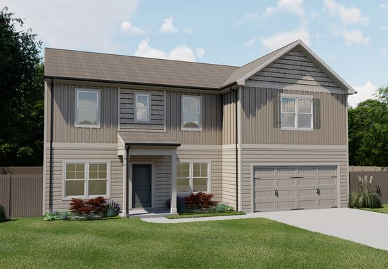 The Cambridge by Chafin Communities:Elevation C