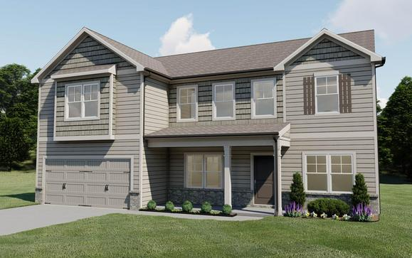 The Preswick by Chafin Communities:Elevation E