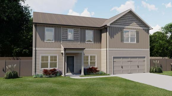 Greenbrier by Chafin Communities:Elevation C