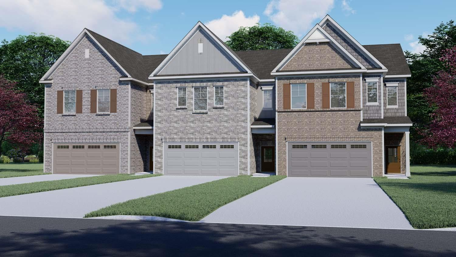 The Clayton Plan by Chafin Communities:Color Elevation