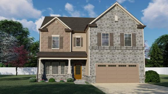 The Colburn by Chafin Communities:Color Elevation