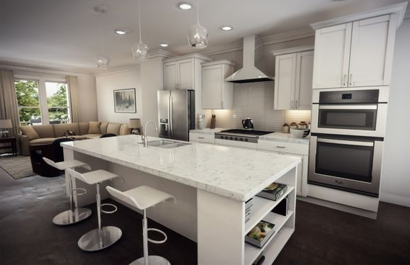 Beautiful Gourmet Kitchens