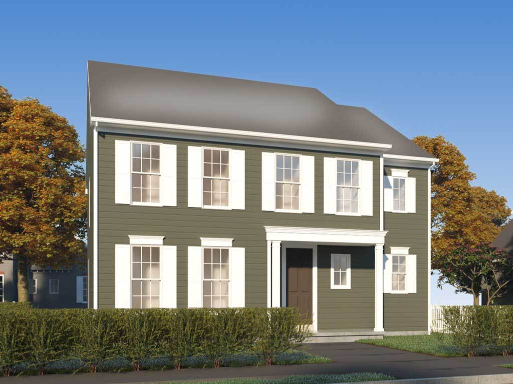 The Townson:Traditional Elevation