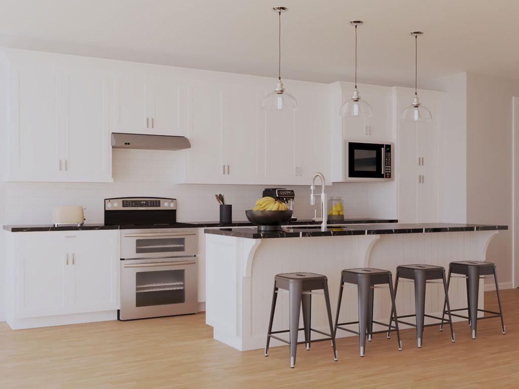 The Layton:Lenox Kitchen